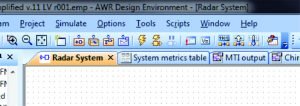 "Figure 2: Click ""Run/Stop System Simulators"" to begin the simulation"
