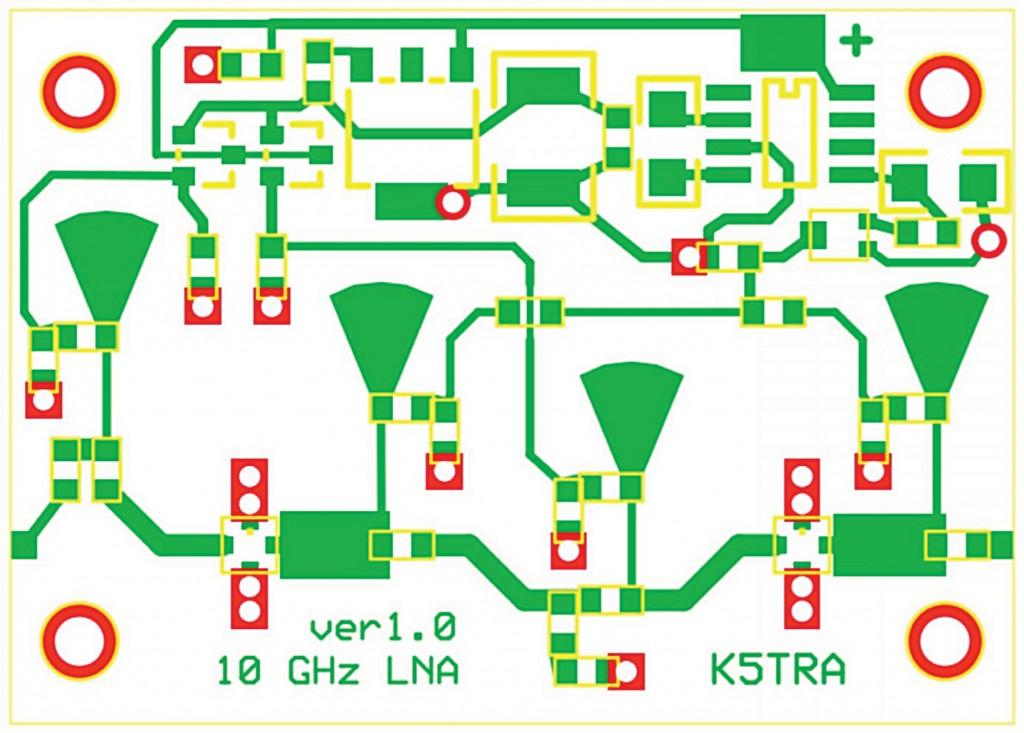 LNA layout
