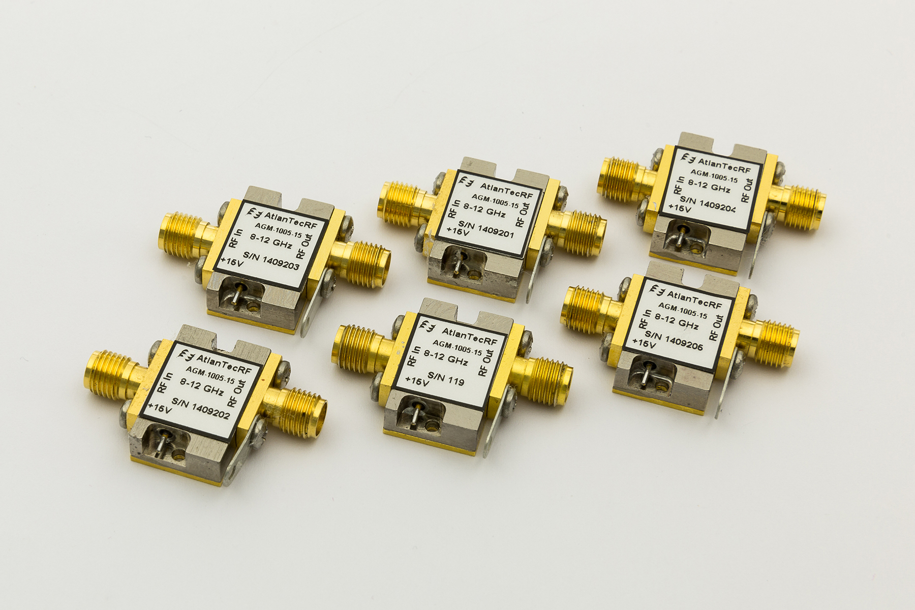 AtlanTecRF launches high-spec stock programme by offering immediate delivery of its X-Band Amplifiers with MIL-883 Screening