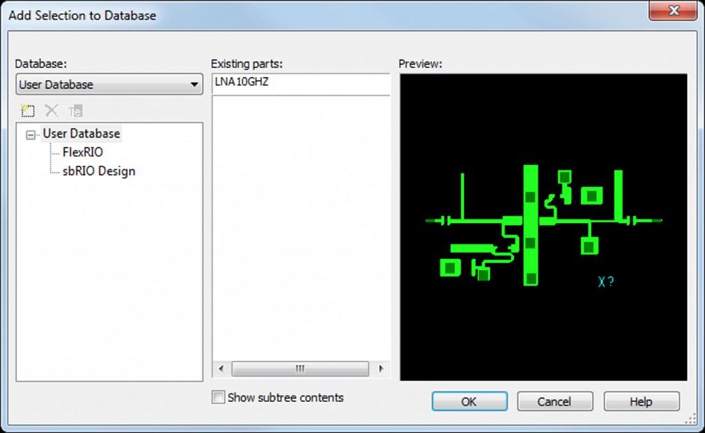 Ultiboard database