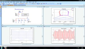 NI AWR Design Environment inclusive of schematic editor, layout, and circuit (HB) simulators