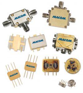 Figure 2: MACOM RF components