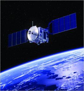 Figure 1: Earth orbiting satellite
