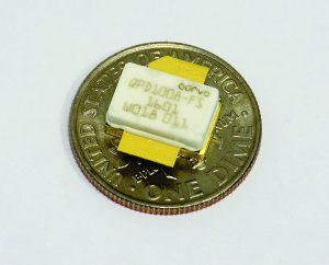 Figure 1: The QPD1008 GaN transistor from Qorvo