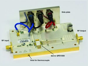 Figure 6: Final amplifier assembly