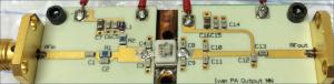 Figure 14: Assembled Class-F amplifier design