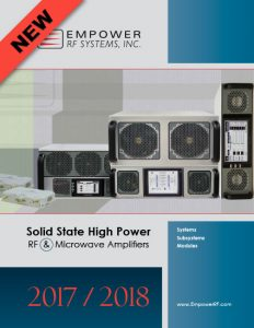 Empower RF Systems New Corporate Catalog 2017