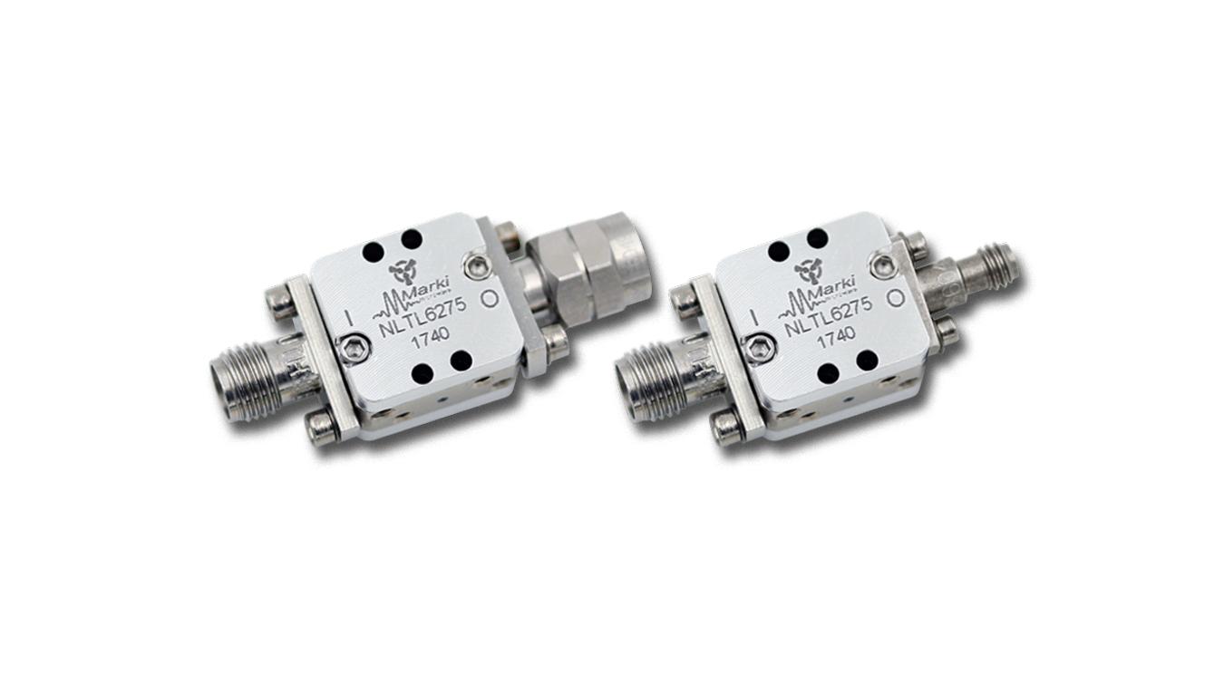 GaAs MMIC Non-Linear Transmission Line