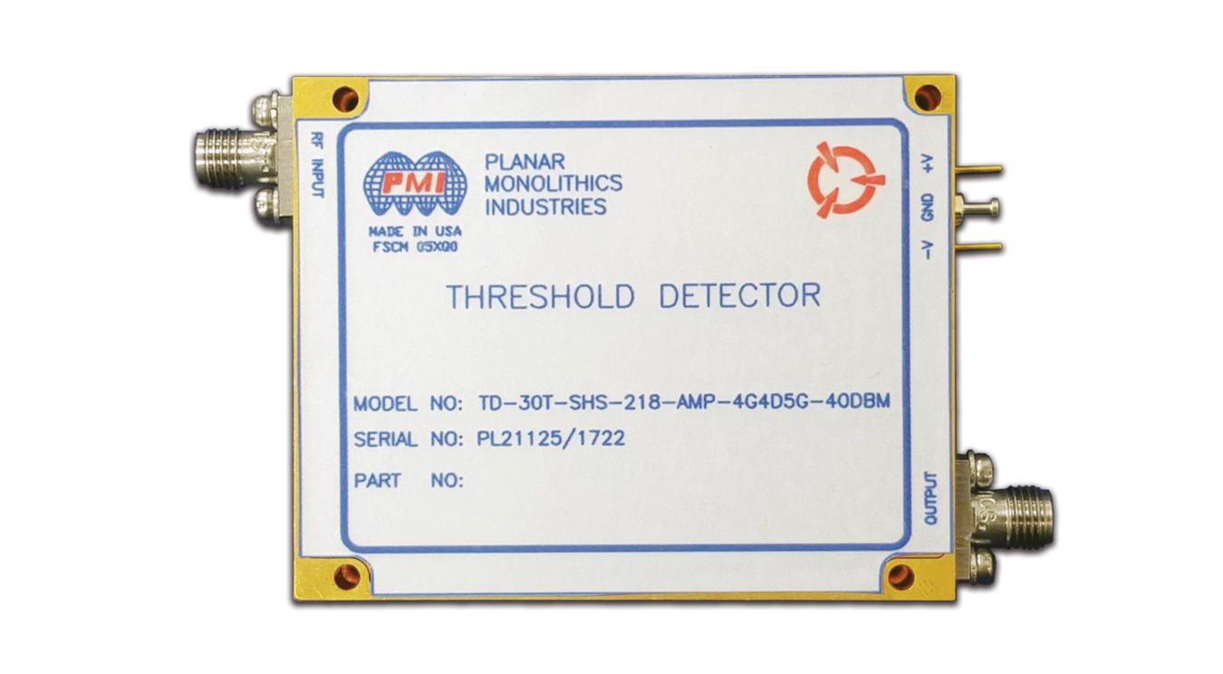 High Sensitivity Threshold Detector