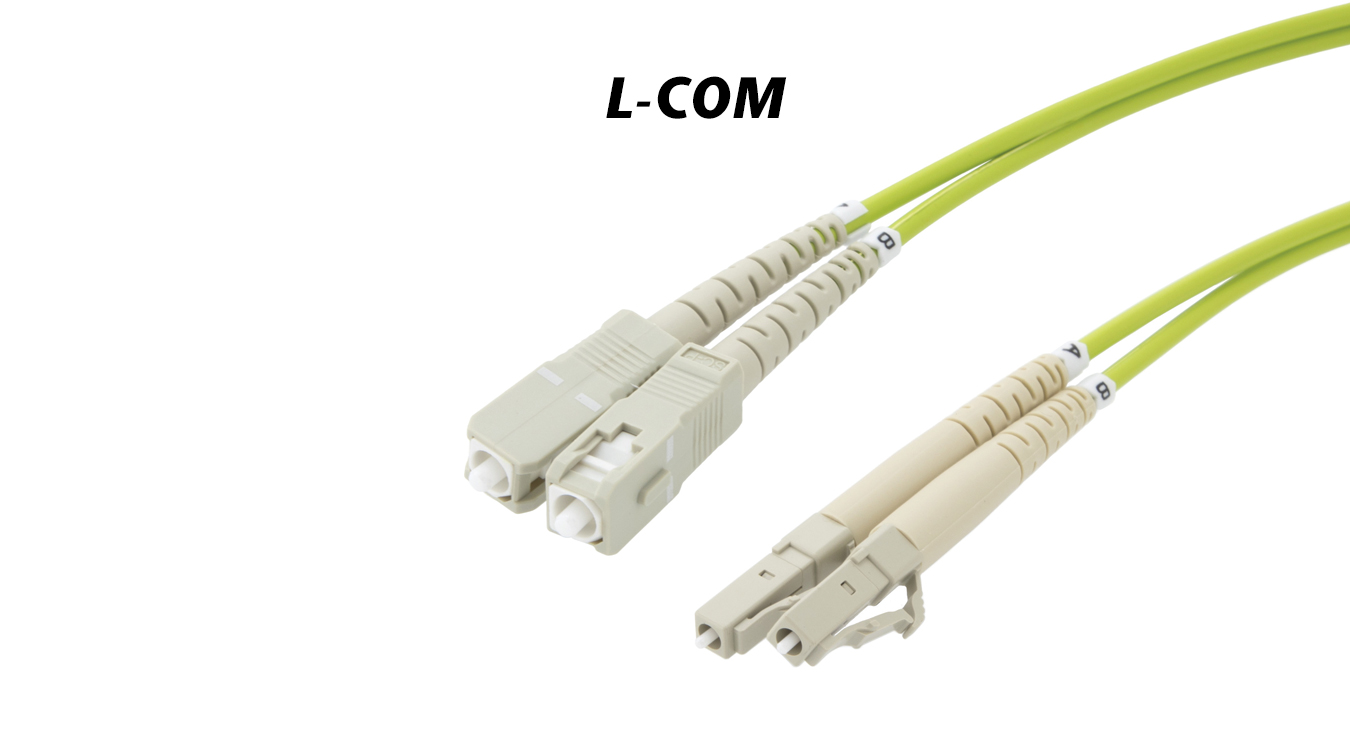 OM5 Fiber Optic Cable Assemblies