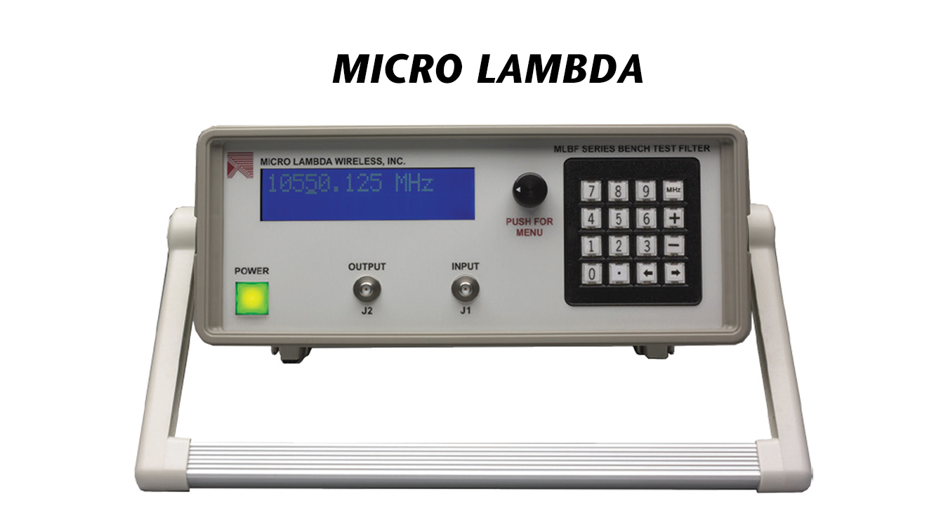 MLBF-Series Bench Test Filters