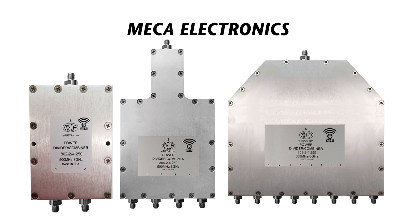 Wi-Fi 6E RF/Microwave Power Dividers