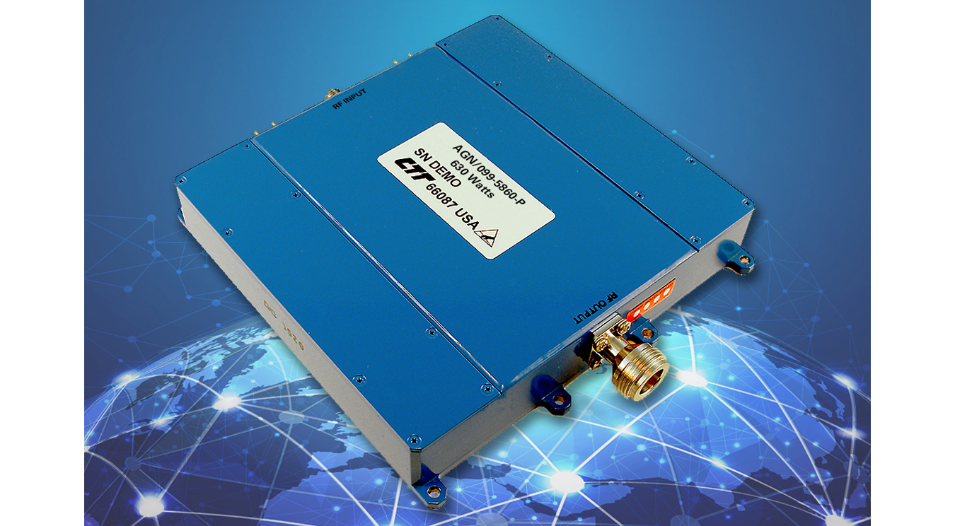 Compact, GaN-Based Soild-State Power Amplifier (SSPA)