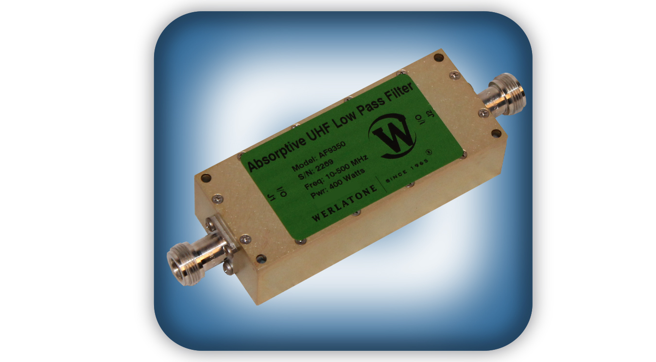 Absorptive UHF Low Pass Filter