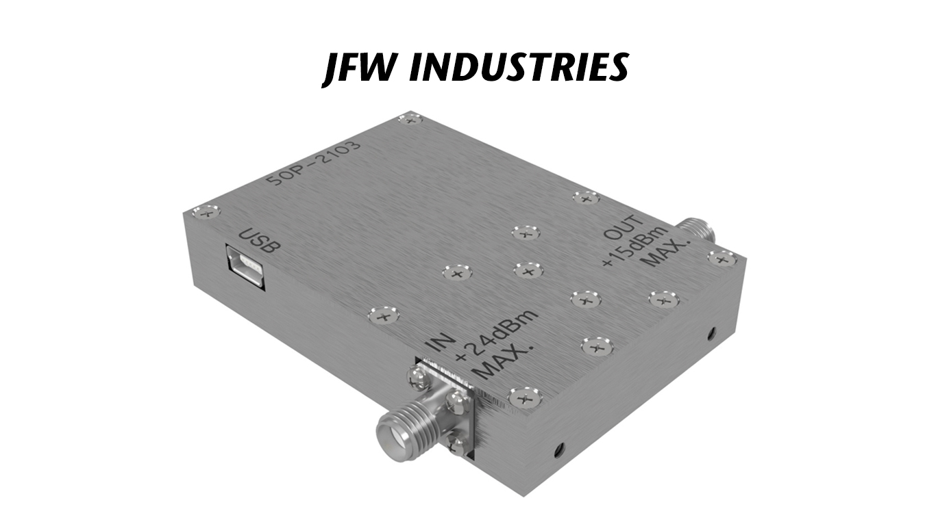 USB-Controlled Attenuators for Testing